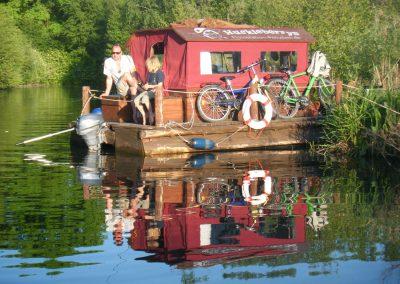 Floßurlaub in Zehdenick