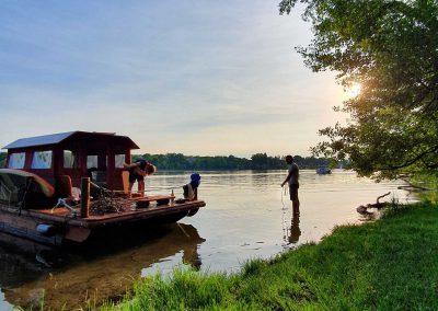 Familienurlaub auf dem Wasser